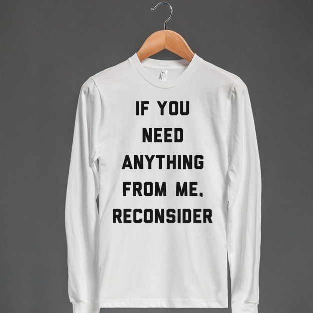 Whatever time it is, your uselessness is a virtue. | 28 T-Shirts For When You Literally Cannot
