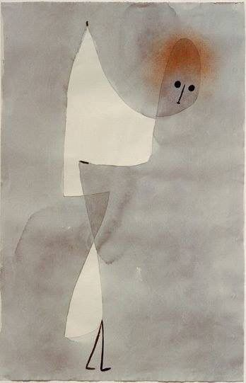 Paul Klee, Dance Position, 1935 on ArtStack #paul-klee #art