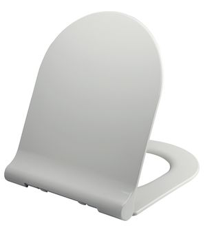 Grey Soft Close Toilet Seat Wenko Forano Thermoplastic Soft Touch