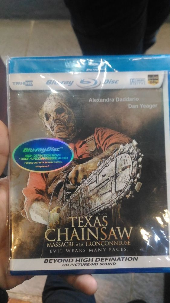 Texas Chainsaw 2012 Blu-Ray HD Picture Free Shipping