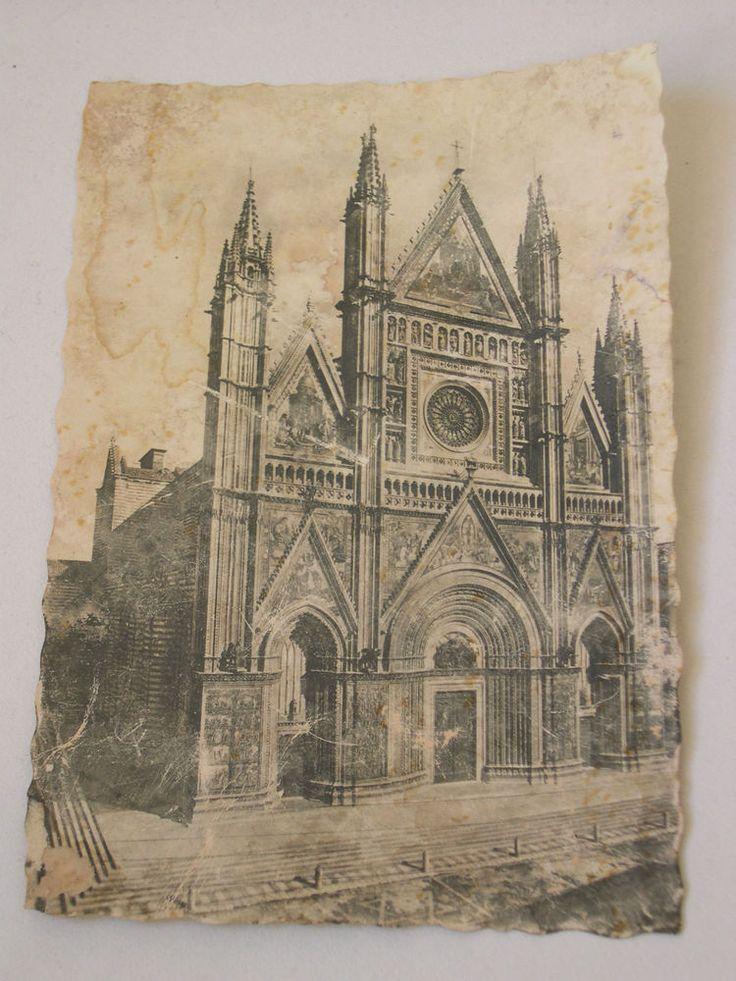 cartolina Duomo di Orvieto