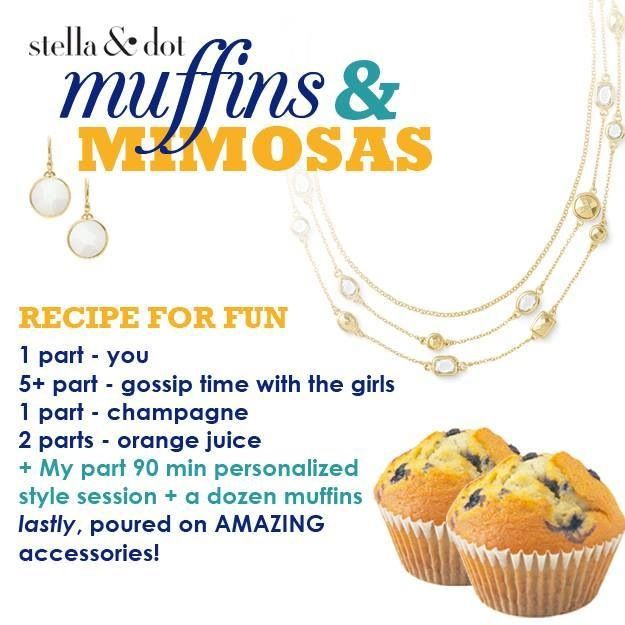 Muffins & Mimosas | Trunk Show Food & Drink by Stella & Dot