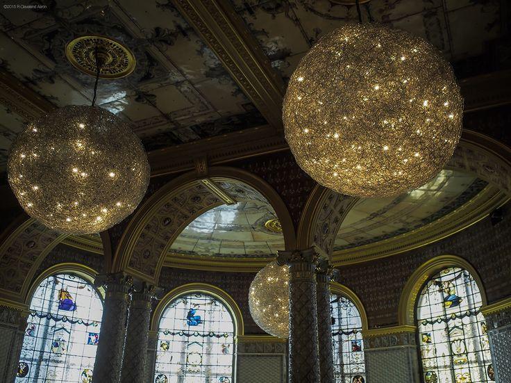 V&A Museum - Restaurant - light feature
