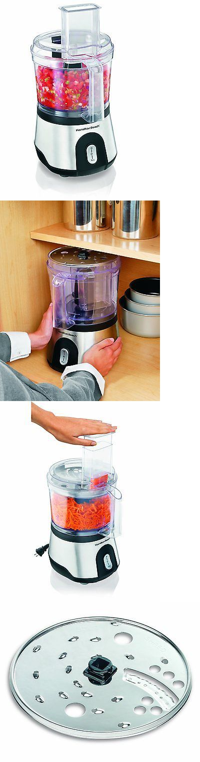appliances: Hamilton Beach 10-Cup Food Processor With Compact Storage (70760) 102930740725 BUY IT NOW ONLY: $54.7