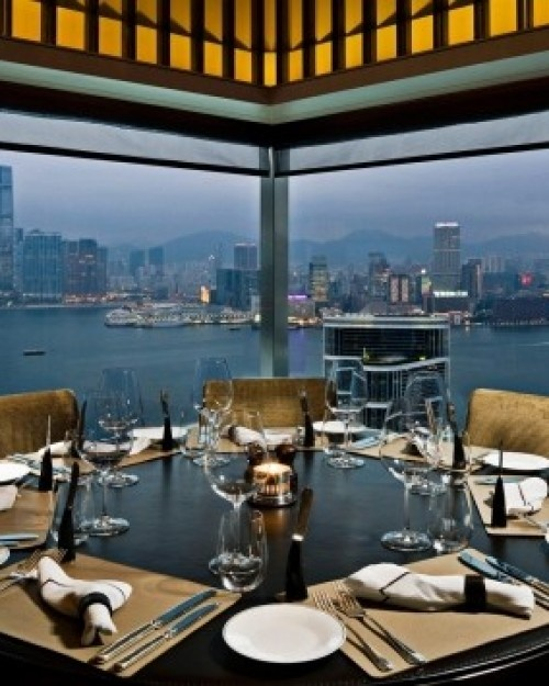Best restaurant view EVER in Hong Kong  #JSCathay