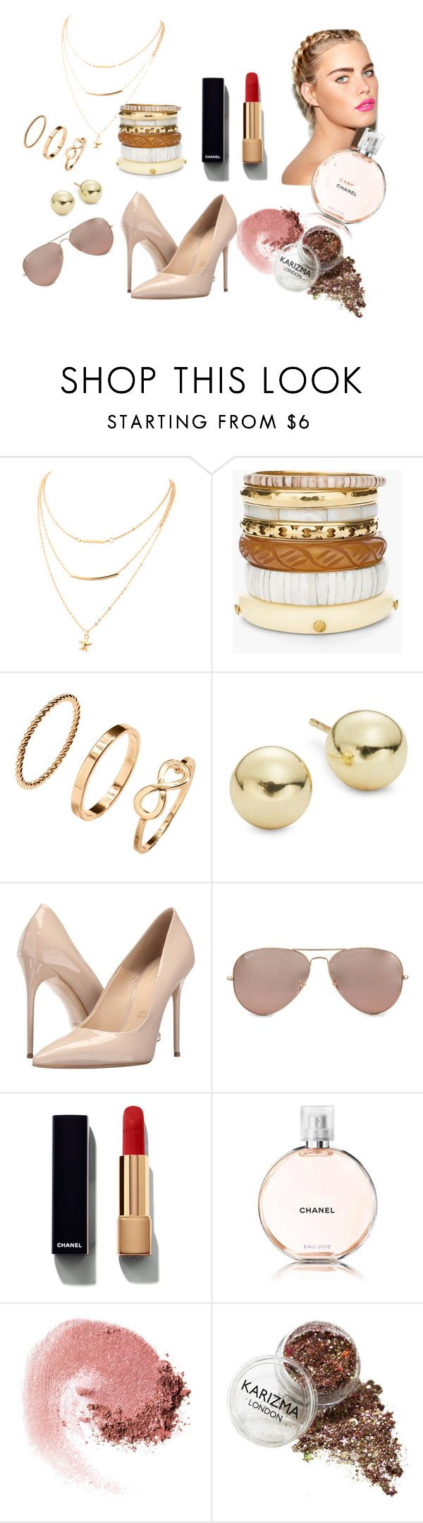 """""""Acc"""" by gloria-manriquez on Polyvore featuring moda, Chico's, Lord & Taylor, Massimo Matteo, Ray-Ban, Chanel y NARS Cosmetics"""