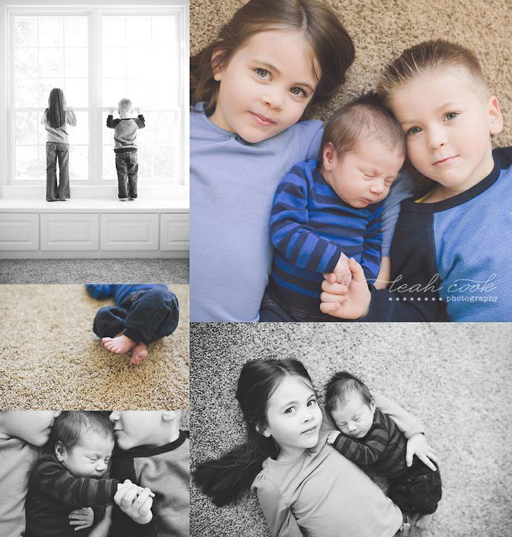 leah cook | lifestyle sibling newborn