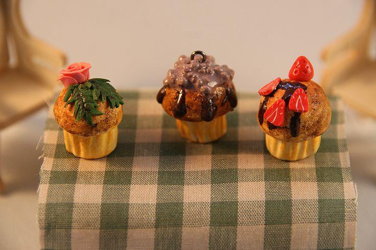 Muffins - plymer clay