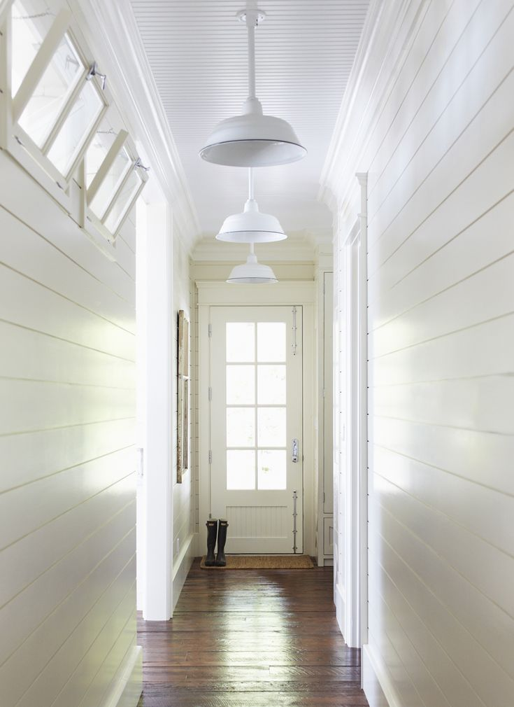 Love the wood walls & ceiling!
