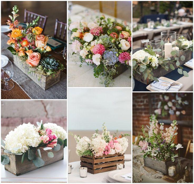 1000 Ideas About Cheap Wedding Decorations On Pinterest: 1000+ Ideas About Flower Box Centerpiece On Pinterest