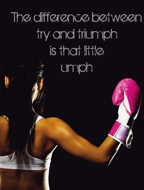 Boxing is really tuff and a hard workout but I love the way I feel and it keeps me going with crazy extra energy;)