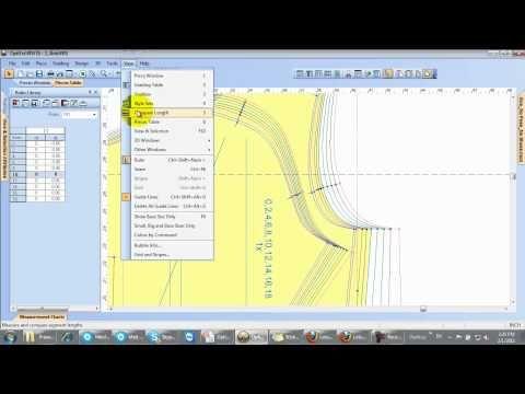 Grade - Pattern Making Software, Improve Global Fit, Webinar 4, Sess. 2, Optitex - YouTube