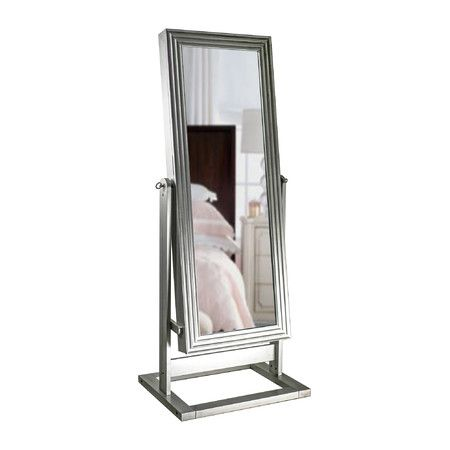 Keep all your accessories stowed away in this chic jewelry armoire, featuring a mirrored door to complete your morning ritual. Features: