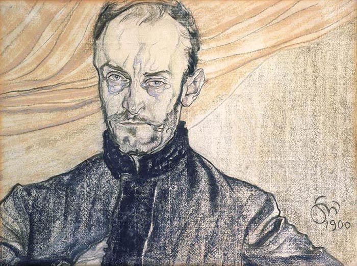Stanisław Wyspiański - Portrait of Antoni Kamieński, 1900