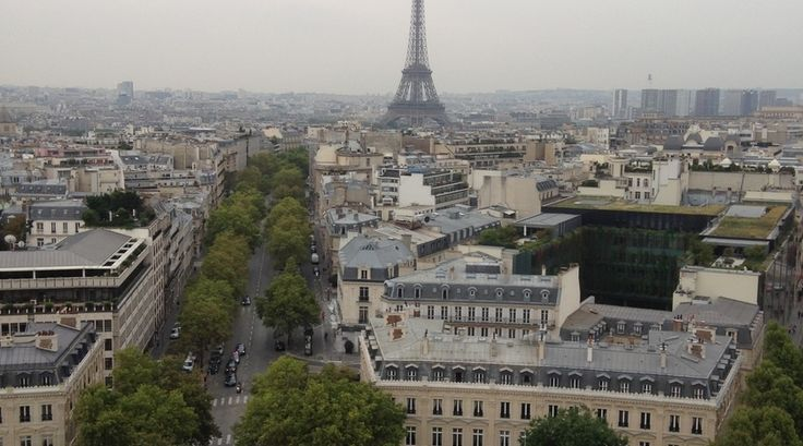 Een mooi uitzicht over Parijs!