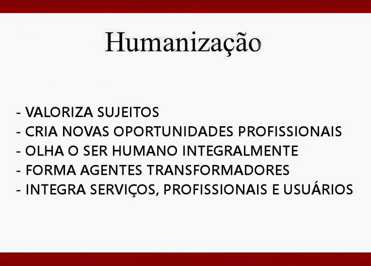 http://engenhafrank.blogspot.com.br: CONCEITO E DEFINIÇÃO DE HUMANIZAÇÃO