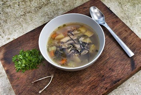 Deliciousness. http://www.sarahwilson.com.au/2012/03/how-to-make-chicken-stock-and-my-mums-chicken-soup/