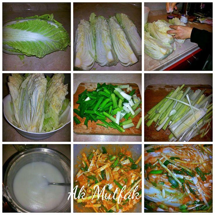 Ülkemizden ve Uzak Doğudan Nefis Yemek Tarifleri: Kimchi ( Kore Turşusu)