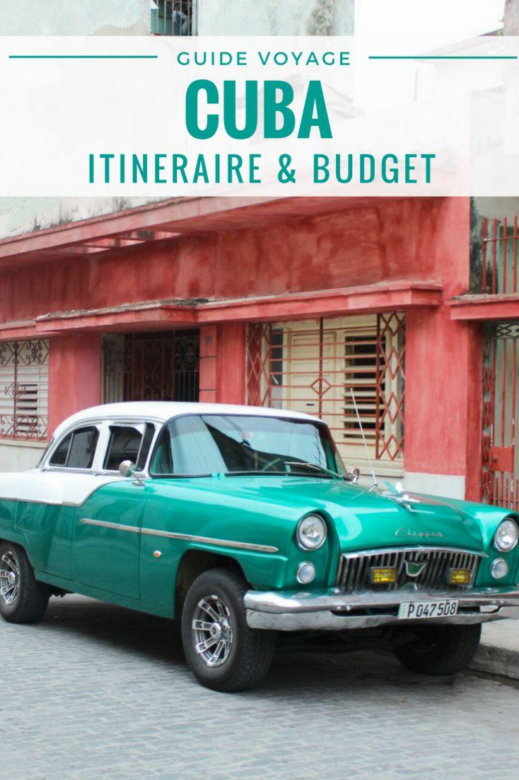 Guide et itinéraire pour voyage à Cuba #cuba #voyageCuba #itineraireCuba #roadtripCuba