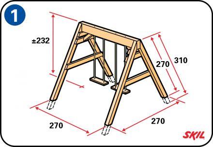 Un'altalena è l'ideale per far giocare i tuoi bambini all'aperto. Leggi come realizzare la tua altalena da giardino in legno in soli 12 semplici passaggi.
