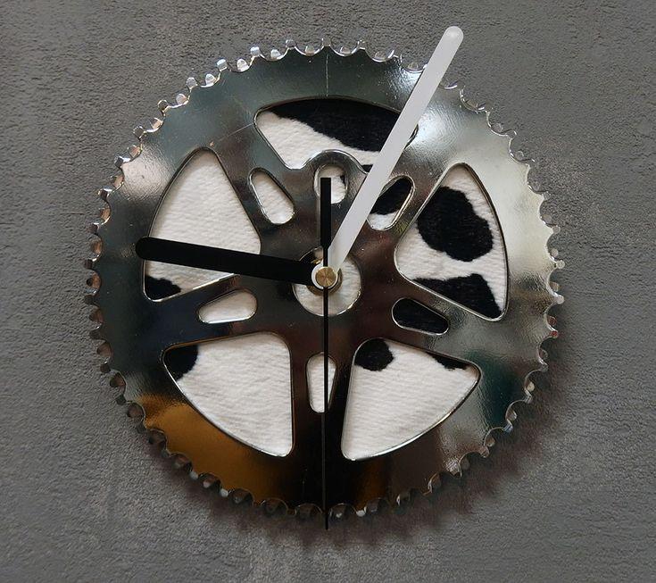 Wall bike clock Paint by BikesBazaar on Etsy