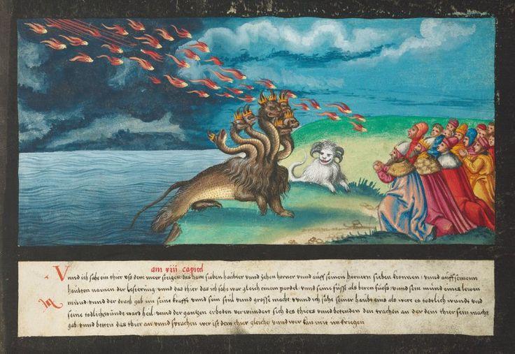Feuer undFluten: Buch aus16. Jahrhundert zeigt Endzeitphantasien – SPIEGEL O… – Markus Wintersberger