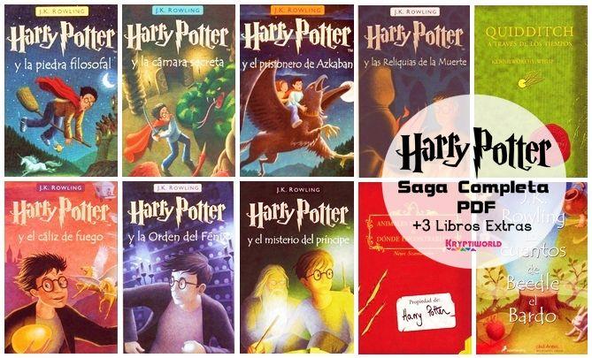Descarga Colección Completa De Harry Potter En Español Y