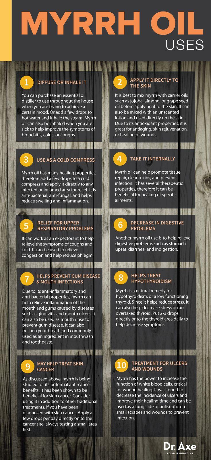 10 Proven Myrrh Oil Benefits & Uses