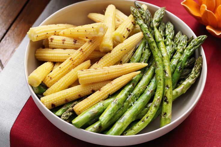 Asparagus & Corn
