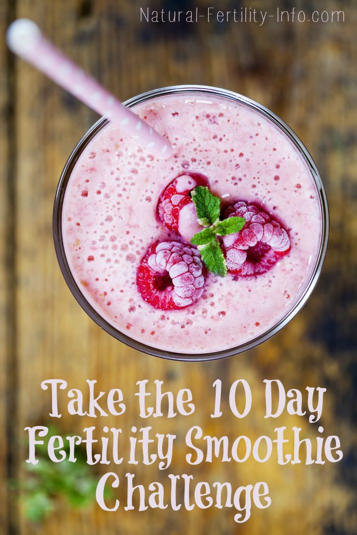 One of the most impactful steps you can take on your fertility path is to eat a healthy fertility diet. So to make this fun and help you reach your amazing goal of a healthy pregnancy and parenthood we have created the 10 Day Smoothie Challenge.  #FertilitySmoothie #NaturalFertility