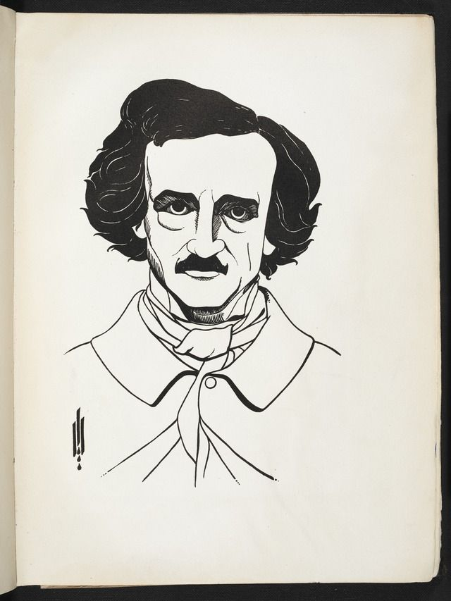 Image from Illustrations to Edgar Allan Poe by Aubrey Beardsley (BL 7825.t.19-56) - Category:Aubrey Beardsley - Illustrations to Edgar Allan Poe — Wikimedia Commons