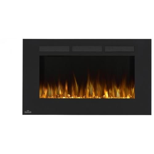 Napoleon Allure 42-Inch Wall Mount Electric Fireplace - Orange Flames