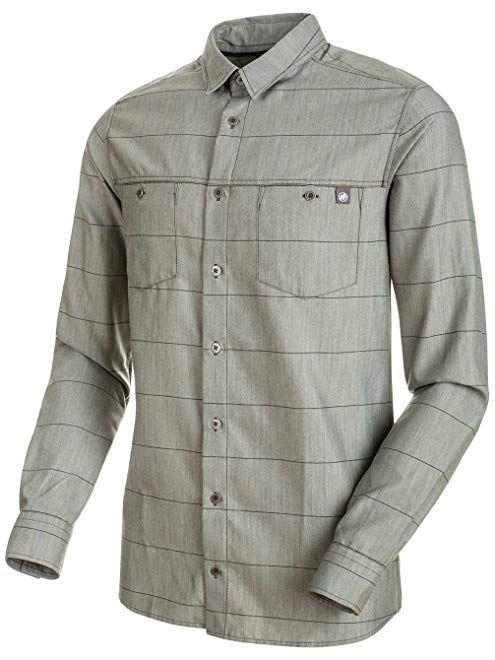 3a94341a Mammut Alvra Long-Sleeve Shirt - Men's Review   Men Athletic Shirts ...