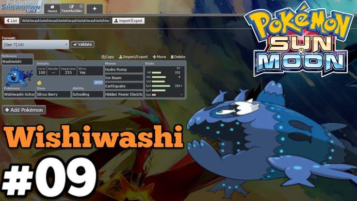 Pokemon Sun & Moon Pokebank OU Team Building #09 Wishiwashi