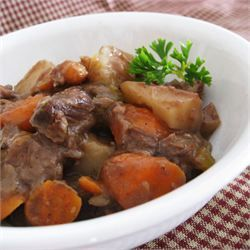 Slow Cooker Beef Stew I - made this yesterday. So easy and so good! I used venison backstrap