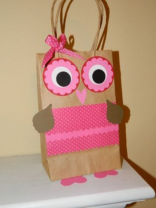 owl valentine bag