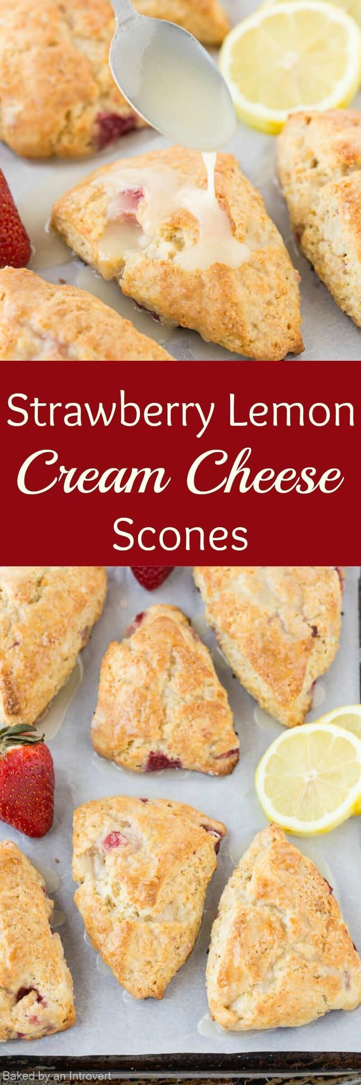 ... Scones with Strawberries | Recipe | Cheese Scones, Scones and Lemon