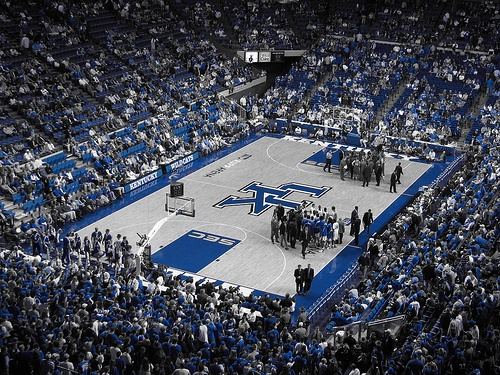 Rupp Arena - University Kentucky Basketball