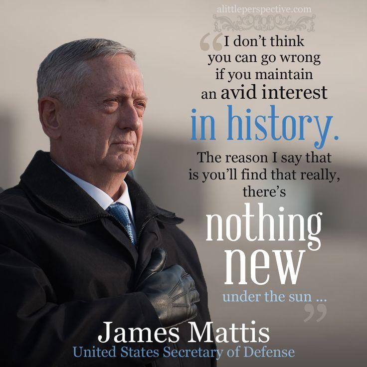 James Mattis, US Secretary of Defense
