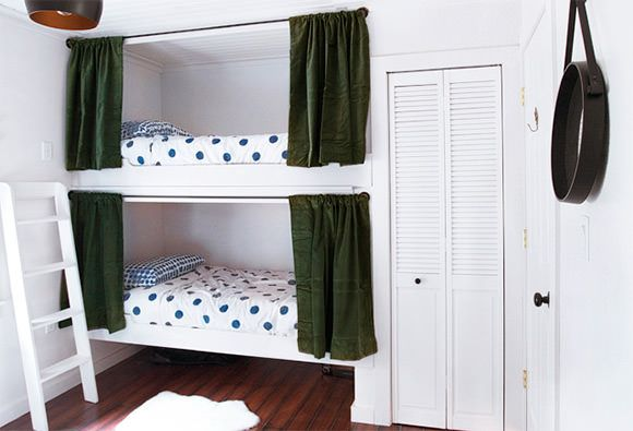 Top Bunks Blackout Curtains Curtain Hardware And Cabin