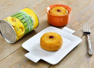 Mini prajituri cu ananas – reteta video