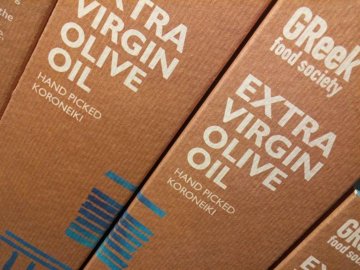 Greek Food Society Packaging