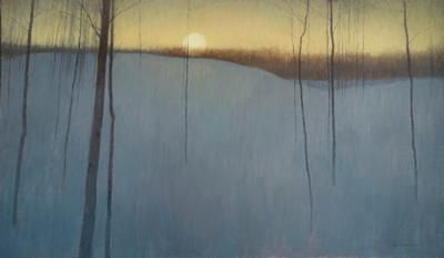 """Almost"" by oil painter David Grossmann. Click the image to see more of the 29-year-old artist's work."