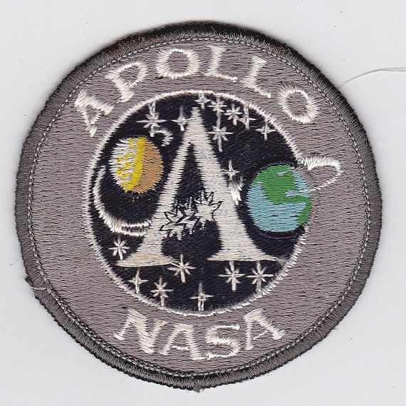 Vintage Nasa Apollo Mission Patch by onetime on Etsy, $3 ...