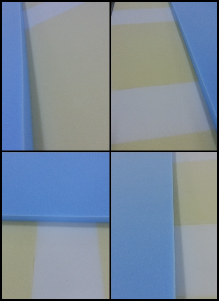Forme geometrice. Saltea Ortopedica 5 Zone de Confort