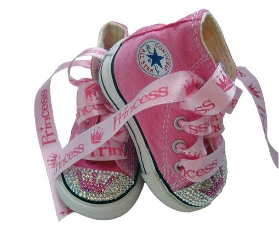 Swarovski Converse Chuck Taylors Sneakers are all the rage among the celebutots!