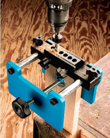 beadLOCK Pro and Basic Joinery Systems Drill Guide and Mortise Joinery