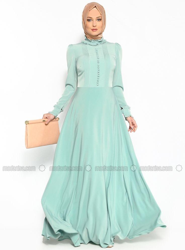 Alya Dress - Mint Green - Minel Aşk
