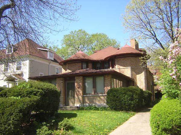 Фрэнк Ллойд Райт (Frank Lloyd Wright): George W. Furbeck House, Oak Park, Illinois (Дом Джорджа Фербека, Оак-Парк, Иллинойс ), 1897