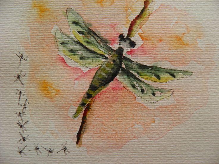 Gemma Brands: Van schets naar aquarel